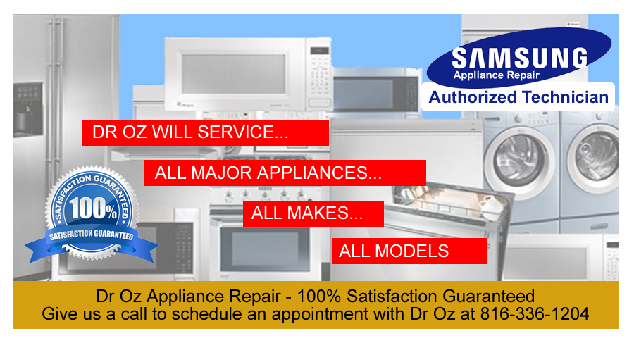Dr Oz Appliance Repair For The Greater Kansas City Area